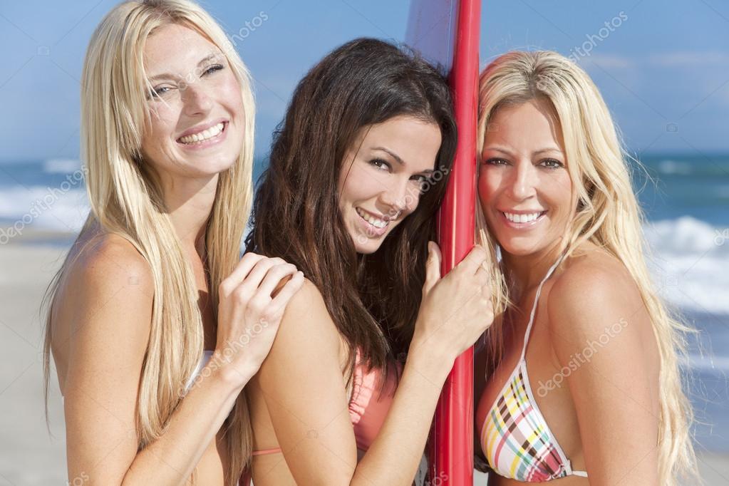 Women In Bikinis Three Romanian 3