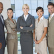 Interracial Men & Women Business Team — Stock Photo #21590077