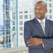 African American Businessman  — Stock Photo