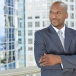 African American Businessman — Stock Photo #21600205