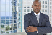 Successful African American Man or Businessman — Stock Photo