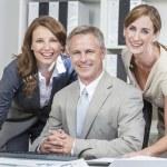 Businessman Businesswomen Men & Women Business Team — Stock Photo #21642663