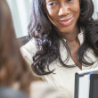 African American Woman or Businesswoman in Meeting — Stock Photo #21718377