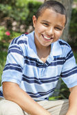 Happy African American Boy Child — Stock Photo