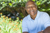 Happy Senior African American Man — Stock Photo