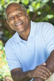 Happy Senior African American Man — Stock Photo