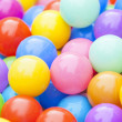 Royalty-Free Stock Photo: Colorful Plastic Balls Background