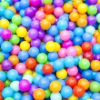 Colorful Plastic Balls Background — Stock Photo