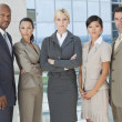 Interracial Men & Women Business Team — Stock Photo #21741621