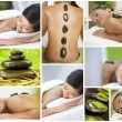 Montage of Luxury Ethnic Female Spa Lifestyle - Stock Photo