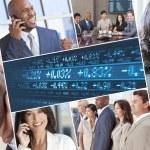 Постер, плакат: Montage of Successful Businessmen and Women