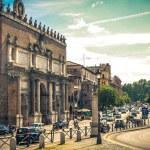 Piazza del Popolo. Roma. Italy. — Stock Photo #21827151