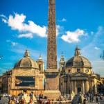 Piazza del Popolo. Roma. Italy. — Stock Photo #21827369