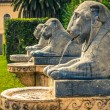 Tuileries garden. Roma. Italy. - Stock Photo