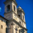 Trinita dei Monti. The Spanish Steps. Piazza di Spagna. Roma. It — Stock Photo