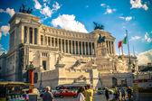 Piazza Venezia. Capitol Hill. Altar of the Fatherland. Roma. Ita — Stock Photo