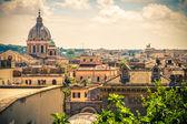 V ulicích říma v létě. itálie. — Stock fotografie