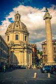 Colonna Traiana. Roma. Italy. — Stock Photo