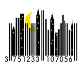Urban Barcode — Stock Vector