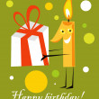 Royalty-Free Stock 矢量图片: Birthday card