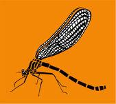 стрекоза — Cтоковый вектор