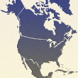 North America map — Stock Photo #28099353
