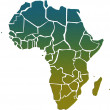 Africa map — Stock Photo #29273671