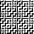 Seamless abstract black and white pattern — Stock Vector