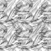 Seamless pattern with feathers — Stock Vector