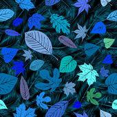 Leaves seamless pattern — Stock Photo