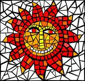 Sun mosaic — Stock Vector