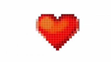 Latido del corazón — Vídeo de stock