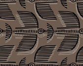Seamless pattern with birds — Stock Photo