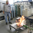 Stock Photo: Metal Casting Laboratory