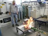 Metal Casting Laboratory — Stock Photo