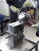 Aluminum and Magnesium Casting — Stock Photo