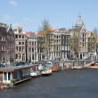 Foto de Stock  : Canals of Amsterdam