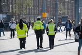 Supervisores de transportes públicos — Foto Stock