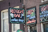 The Red light district — Stock Photo