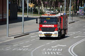 Fire engine, — Stock Photo
