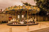 Carrusel en guerande francia — Foto de Stock
