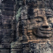Bayon temple in Angkor cambodia — Stock Photo