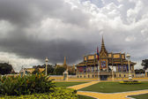 King palace Phnom Penh — Stock Photo