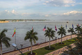 Mekong river in Phnom Penh — Stock Photo
