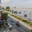 Phnom Penh riverside — Stock Photo #40543613