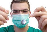 Confident dentist — Stock Photo