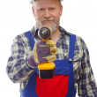 The handyman — Stock Photo