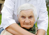 Elderly life — Stock Photo