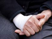 Sprained wrist — Stock Photo