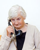 The call — Stock Photo